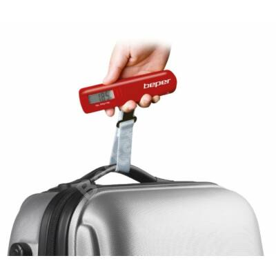 Beper UT.200R Digitális  bőröndmérleg - piros