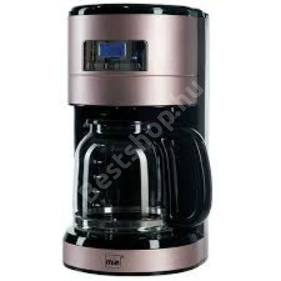 MIA KF1743-RG Kávéfőző időzítővel 1000W