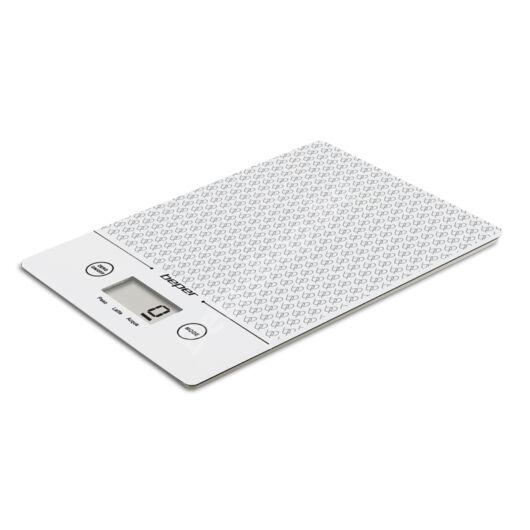 Beper 90.123B Elektronikus konyhai mérleg - fehér